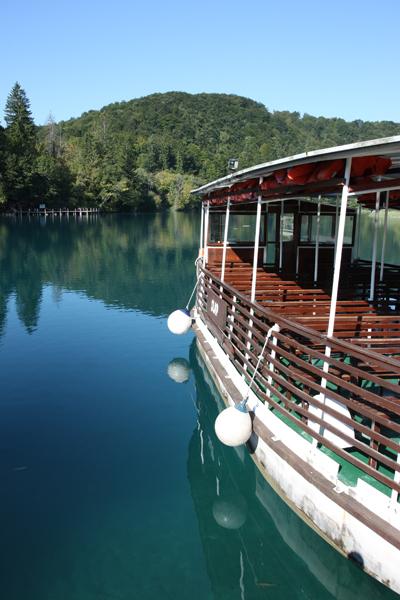 011. Kroatie - Plitvice - electrisch bootje