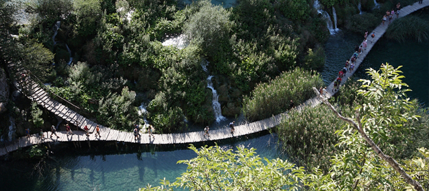 1. Kroatie - Plitvice meren